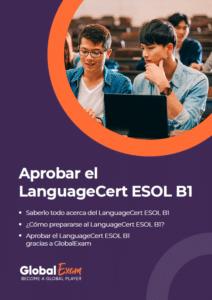 Descarga nuestro libro en pdf para el LanguageCert ESOL B1.