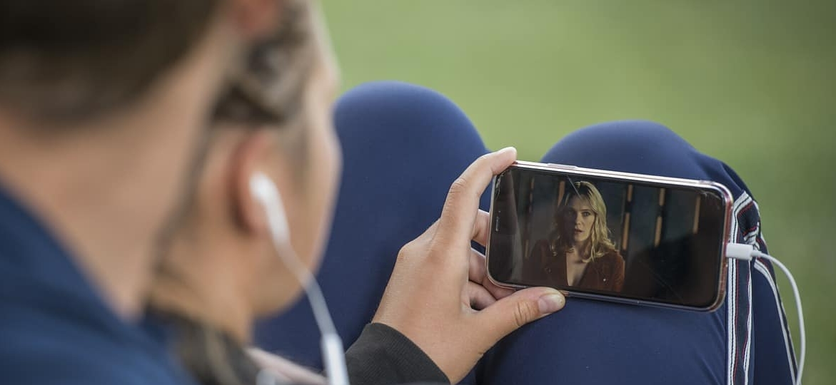 a-couple-watching-a-video-on-the-phone