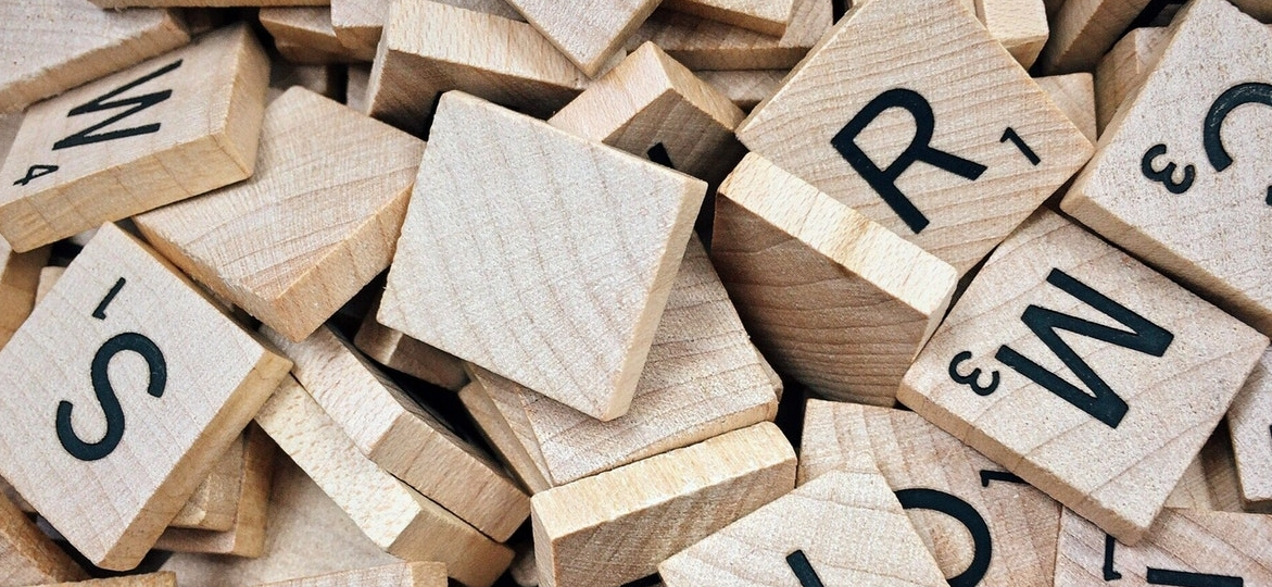 letters made from wood